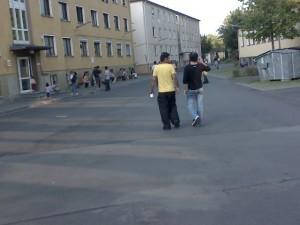 Asylum seekers home / Asylantenwohnheim